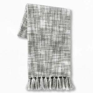 NWT Marled Woven Throw Blanket - Threshold